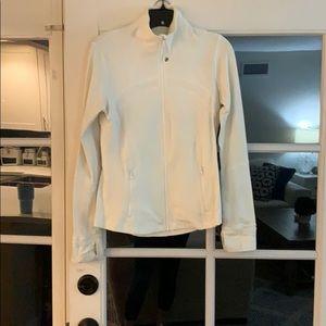 White lulu lemon jacket